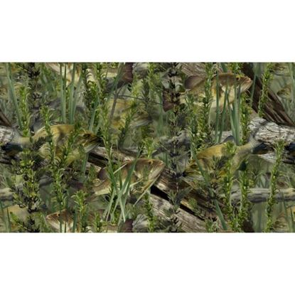 Picture of Golf Car Body Wrap Camouflage Decal Kit - Fishouflage Bass