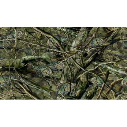 Picture of Golf Car Body Wrap Camouflage Decal Kit - Fishouflage Crappie