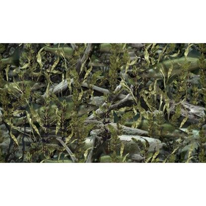 Picture of Golf Car Body Wrap Camouflage Decal Kit - Fishouflage Walleye