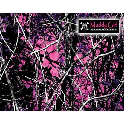 Picture of Golf Car Body Wrap Camouflage Decal Kit - Moon Shine Muddy Girl