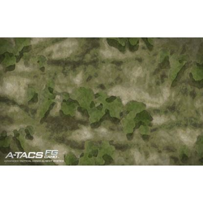 Picture of Golf Car Body Wrap Camouflage Decal Kit - A-TACS Camo FG