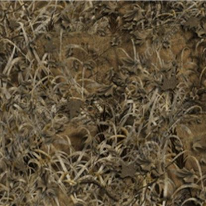 Picture of Golf Car Body Wrap Camouflage Decal Kit - Bushwolf Grasslands