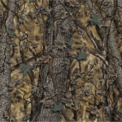 Picture of Golf Car Body Wrap Camouflage Decal Kit - Bushwolf Woodland Ghost