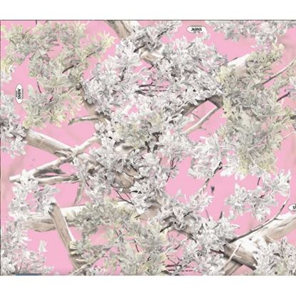 Picture of Golf Car Body Wrap Camouflage Decal Kit - King's Camo Pink Shadow