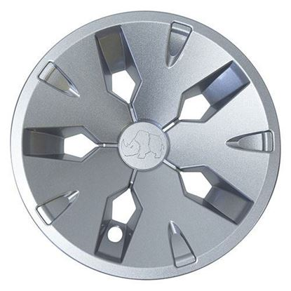 "Picture of 8"" Driver 2 Silver Color Wheel Cover"