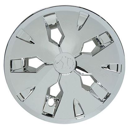 "Picture of 8"" Driver 2 Chrome Color Wheel Cover"