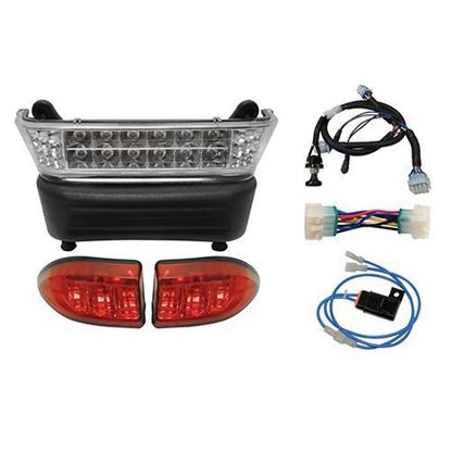 Picture of Club Car Precedent 12V Gas 2004-Up LED Light Bar Kit with Plug & Play Harness