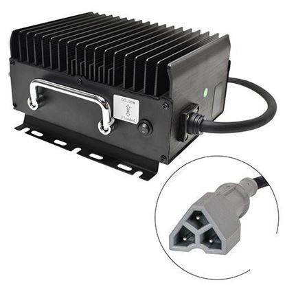 Picture of Admiral Advantage High Frequency Golf Car Charger, E-Z-Go 3 Pin, 48 V 11Amp