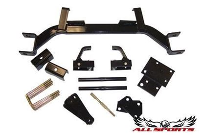 "Picture of Allsports - E-Z-Go Medalist TXT 1994-2001.5 Electric - 3"" Drop Axle Lift Kit"