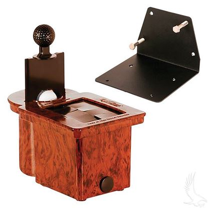 Picture of Club Clean Wood Grain Club & Ball Washer - with Bracket for Yamaha G29/Drive