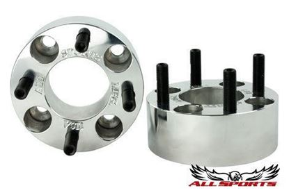 "Picture of 2"" Wheel Spacer Hub Set of 2, Billet Aluminum - Made in the USA"