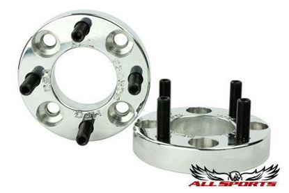 "Picture of 1"" Wheel Spacer Hub Set of 2, Billet Aluminum - Made in the USA"