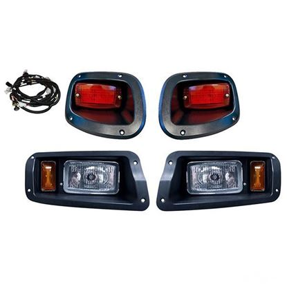 Picture of E-Z-Go TXT 2014-Up Halogen Adjustable Light Kit with Plug & Play Harness