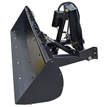 Picture of Poly Front Loader Bucket, Club Car Carryall 300, 500, 700