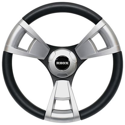 Picture of Fontana Steering Wheel, Brushed, Choose Club Car Model