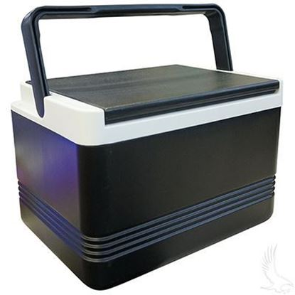 Picture of Cooler, Igloo Legend 12, Black, Top trim in White.