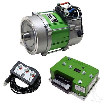 Picture of Navitas AC Drive Conversion Kit, 440A Controller w/ 4KW Motor, Club Car IQ